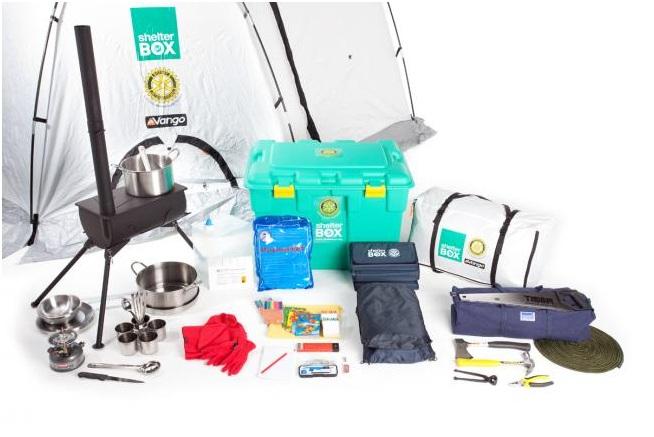 Shelterbox – krabice první pomoci