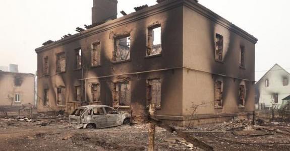 Letní požáry v Rusku