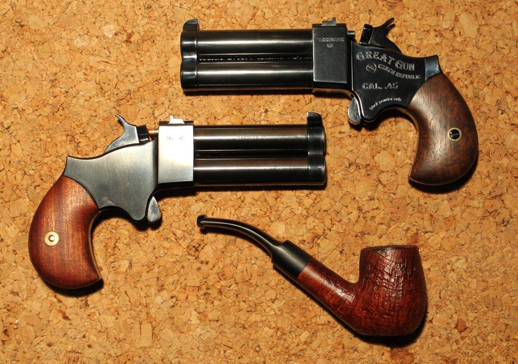 Perkusní Derringer Great gun – recenze