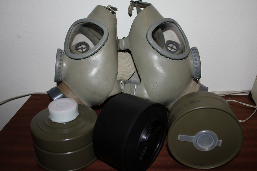 Plynová maska CM-4 – recenze