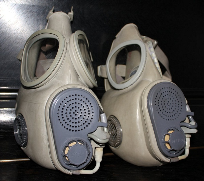 Plynová maska M-10(M) – recenze