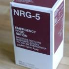 NRG 5 – test nouzové potravy