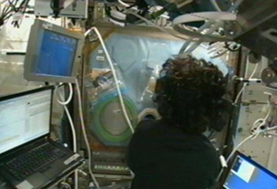 Online přenos z ISS!