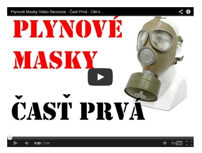 Video Recenze plynové masky – CM-4